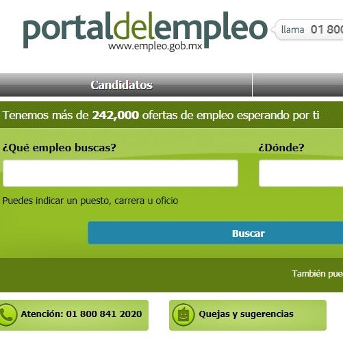 Ofrecen vacantes de trabajo en México desde Estados Unidos