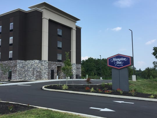 Located along Route 422 in Lebanon, the 85-room Hampton began taking bookings Aug. 16.