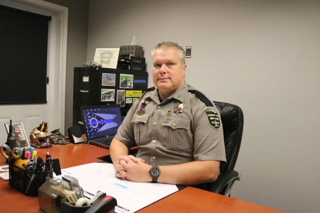 Danbury Township Police Detective Mark Meisler