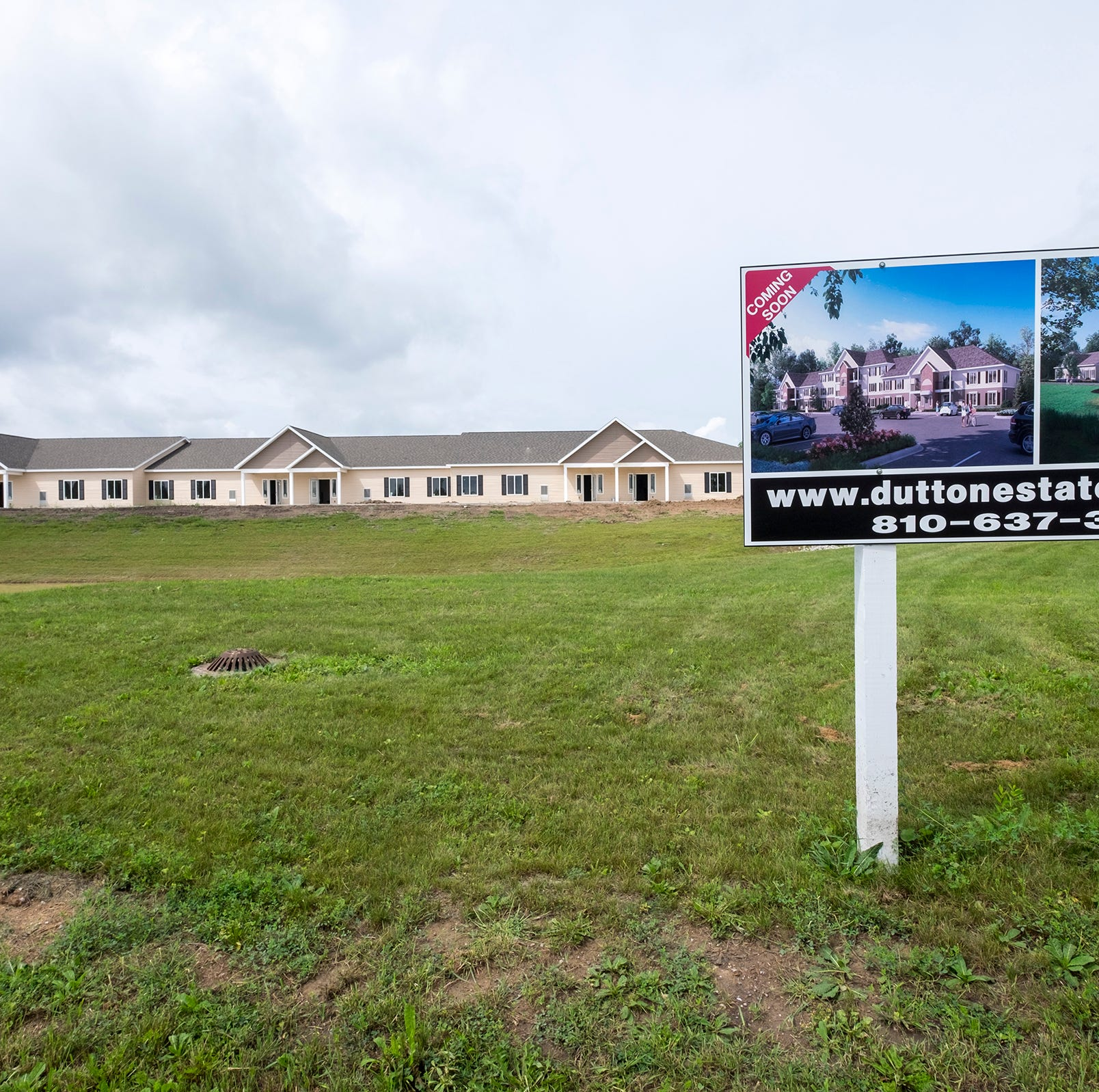 Apartment complex taking shape in St. Clair Twp.