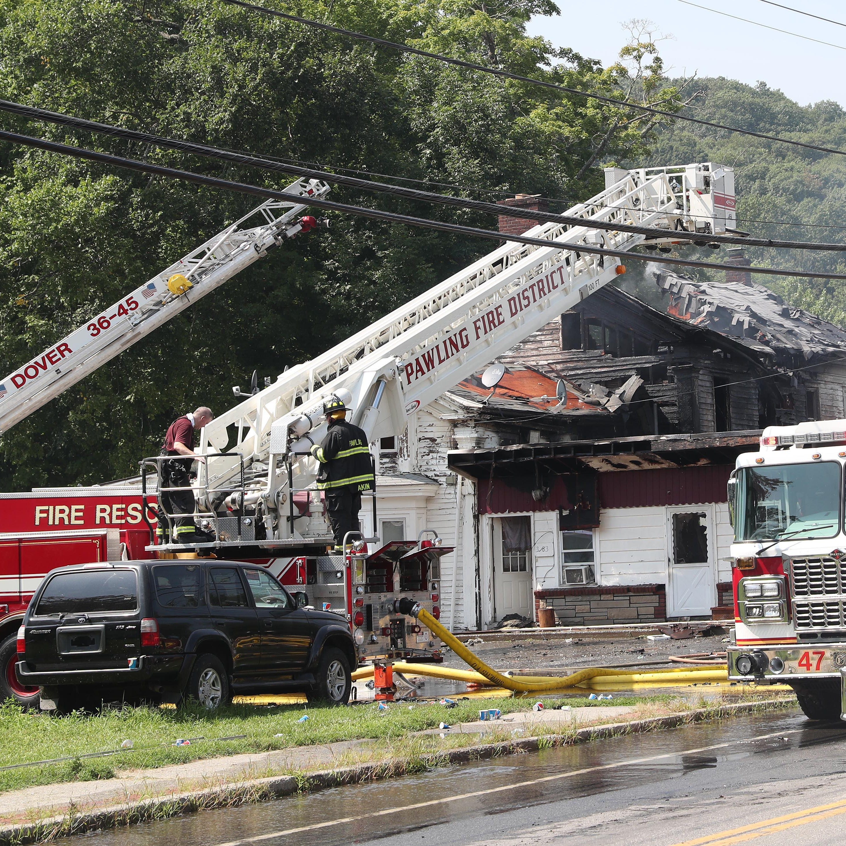 Gallery: Fire ravages Dover restaurant, apartments