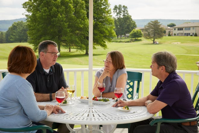 The Founders Grille at Penn National Golf Course Community is offering patrons Pennsylvania wines and craft brews in a dry township.