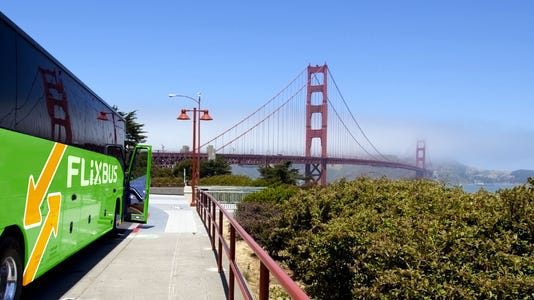 Flixbus Golden Gate Bridge