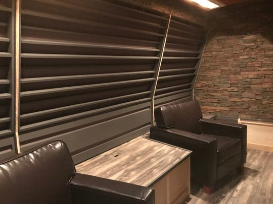 Music room at Homearama 2018 was built for Elvio Fernandes of Daughtry.