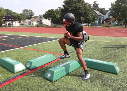 Running back Desi Floyd Jr. will be a big part of the Wilson offense.