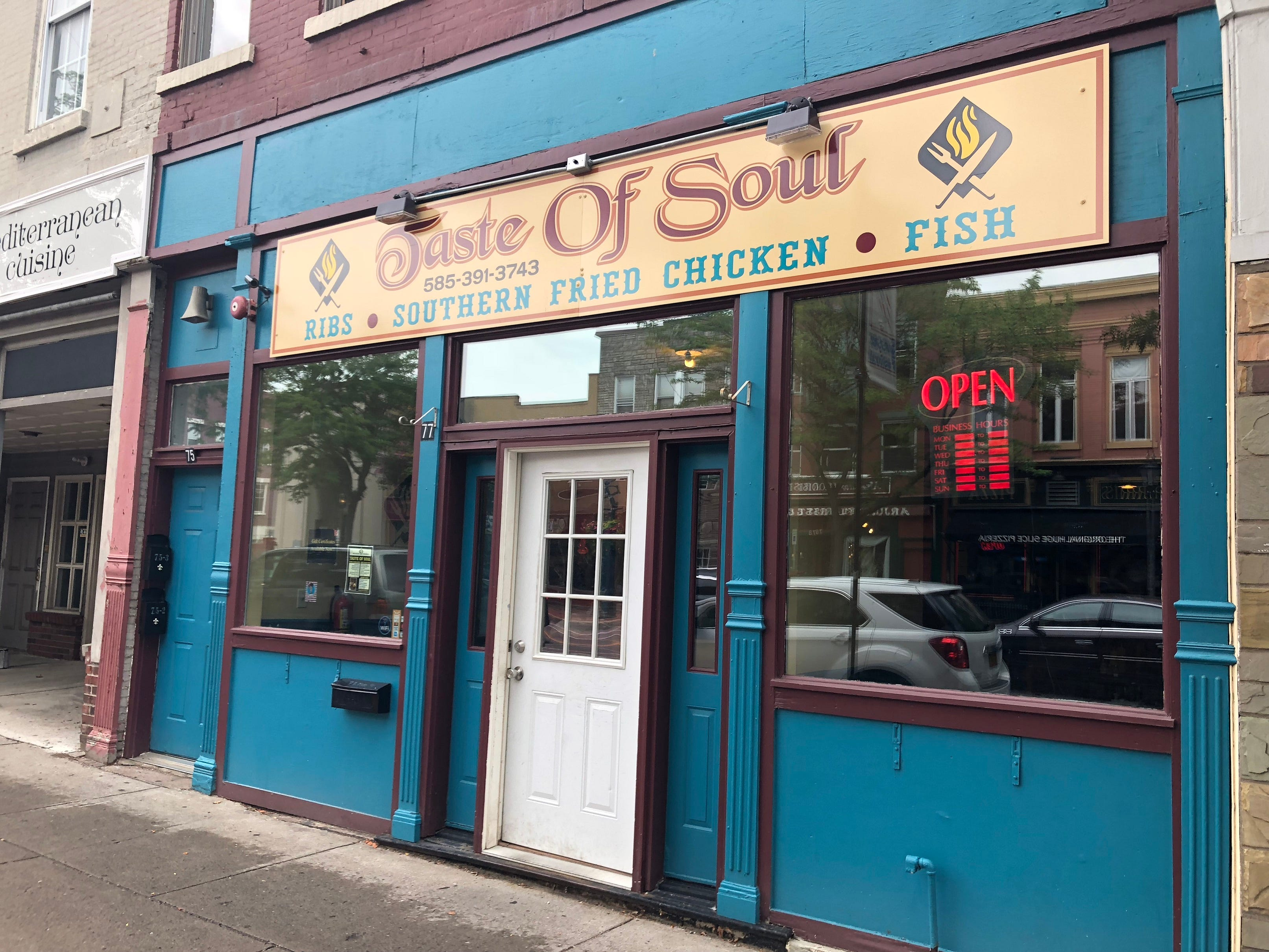 Taste of Soul is at 77 Main St. in Brockport in a spot that was once a burrito joint and a Greek restaurant before that.
