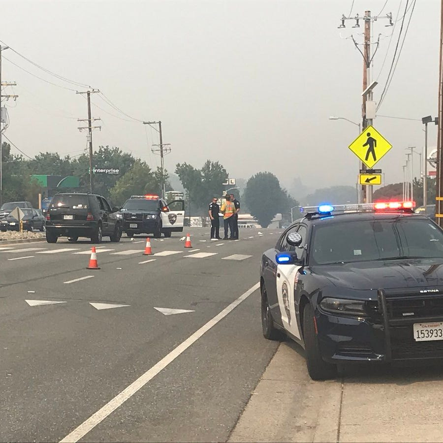 UPDATE: Woman in critical condition after SUV hits her on Cypress Avenue