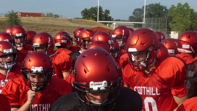 The Foothill Cougars practice on Thursday, Aug. 16. Foothill begins the season against Aug. 24 at West Valley. The Cougars went 6-6 in 2017.