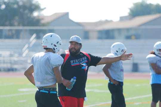 One of the additions to North Salinas head coach Be Ceralde's staff is former Viking Ruben Lerma. Lerma spent last season in charge of the Salinas defense that helped the Cowboys to a CCS Open Division I title.