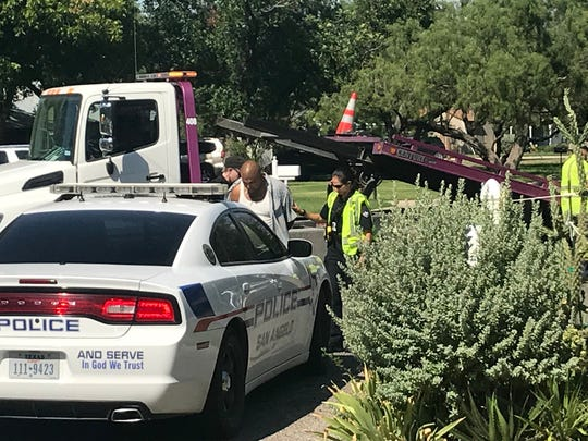 The driver of the black Chevrolet Silverado in the crash on West Avenue L and South Fillmore arrested on Friday, Aug. 17, 2018.