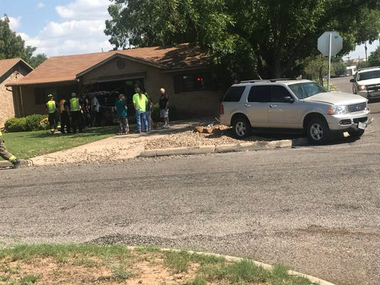 Car Wreck on West Avenue L