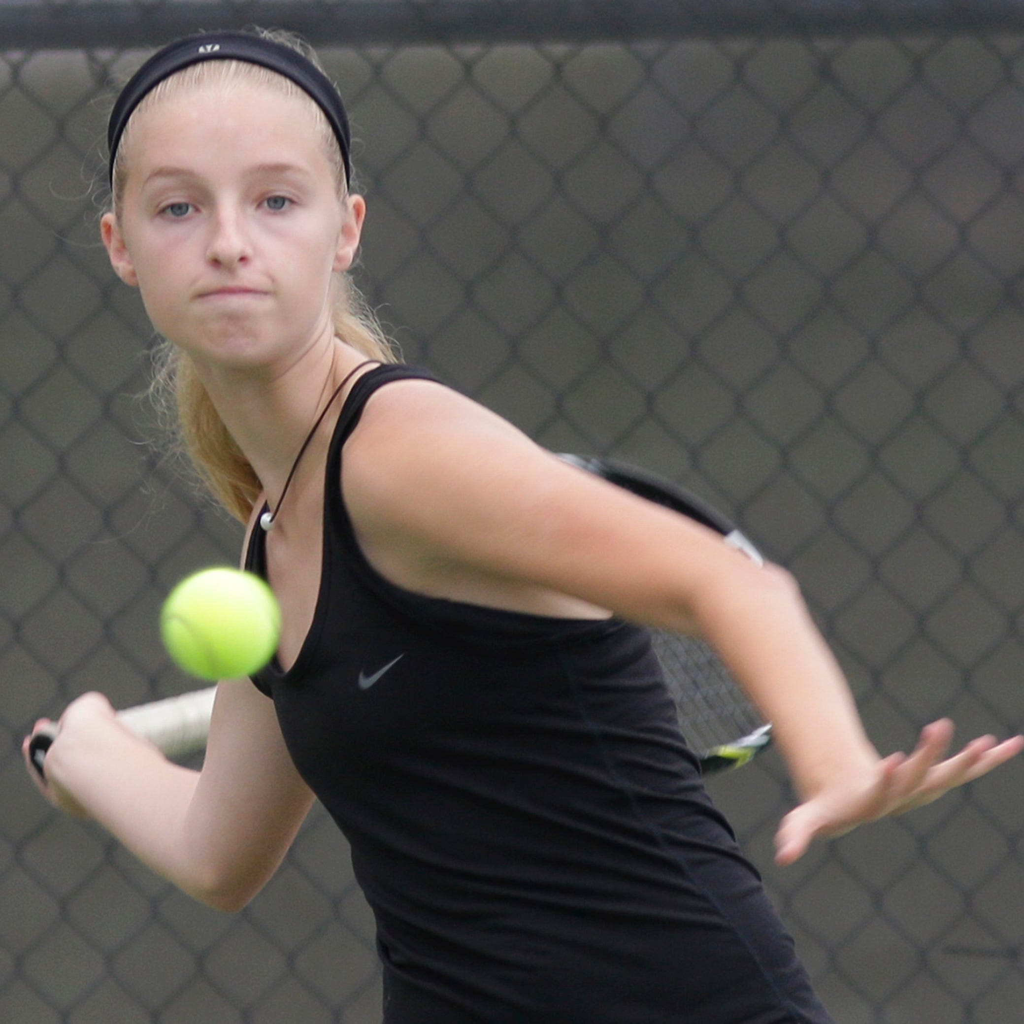 Girls tennis: Kohler at Plymouth, Aug. 16
