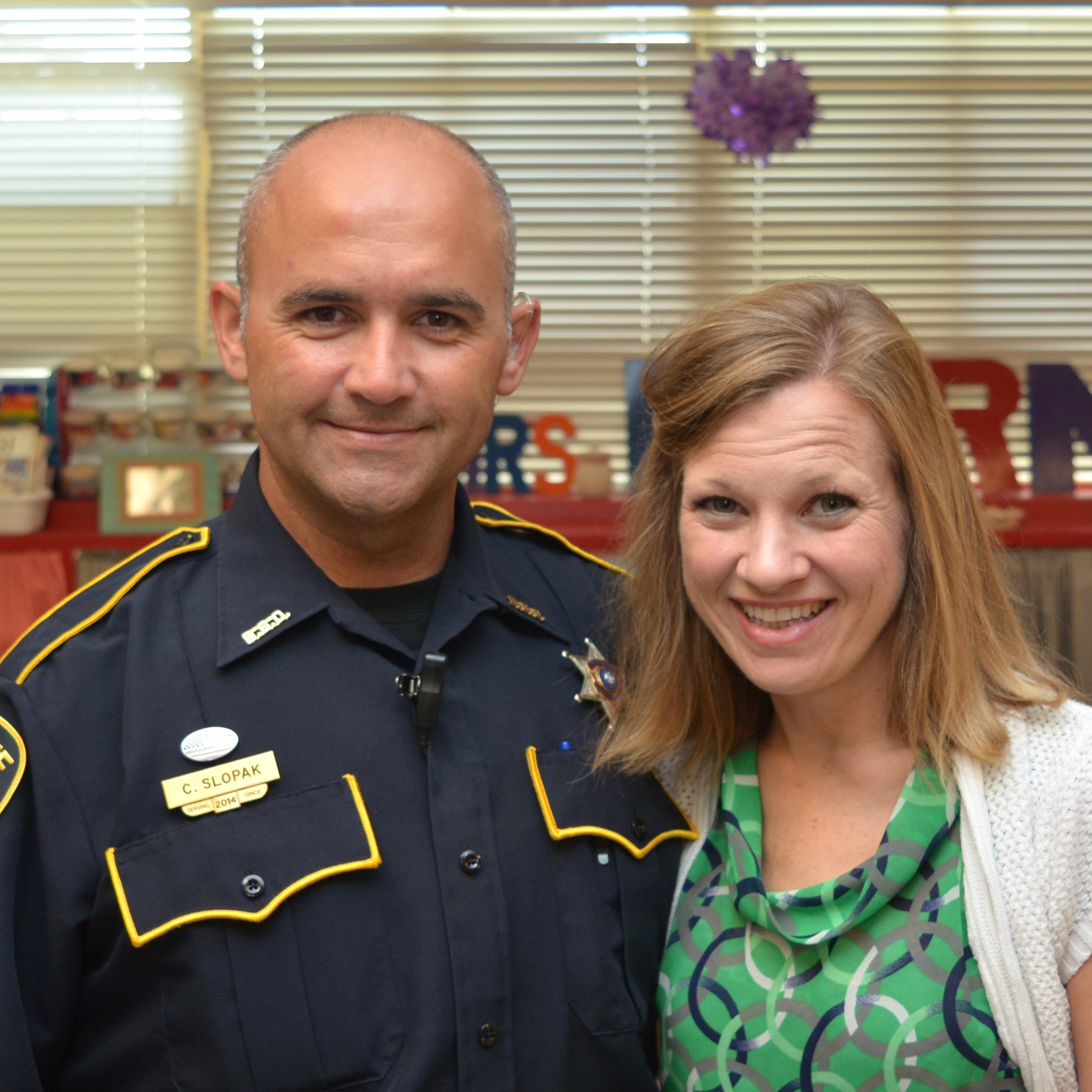 Bossier deputy saves teacher's life on first day of school