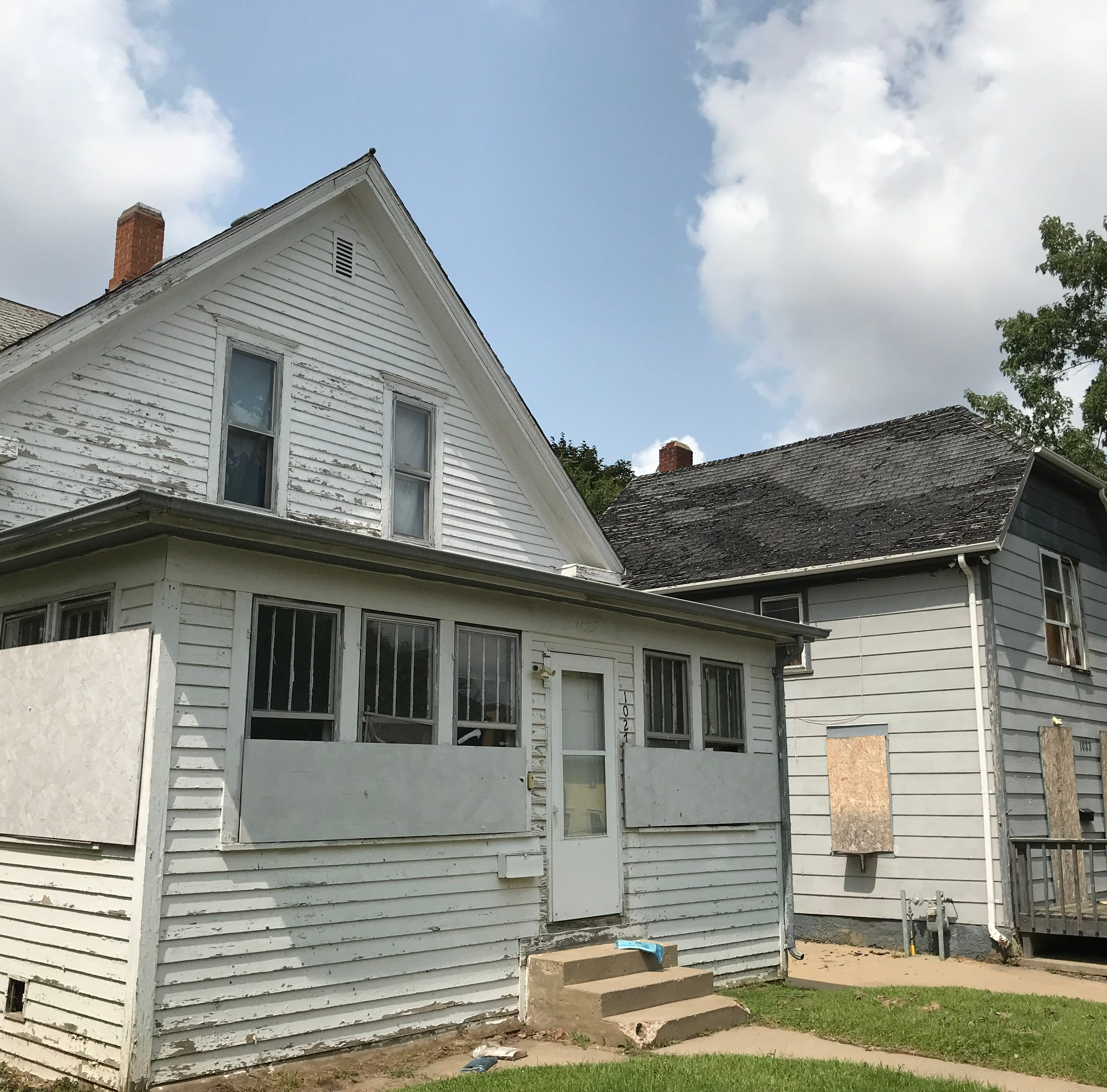 Homes in the Sherman Historic District could be demolished if the Sioux Falls City Council decides they're beyond repair.