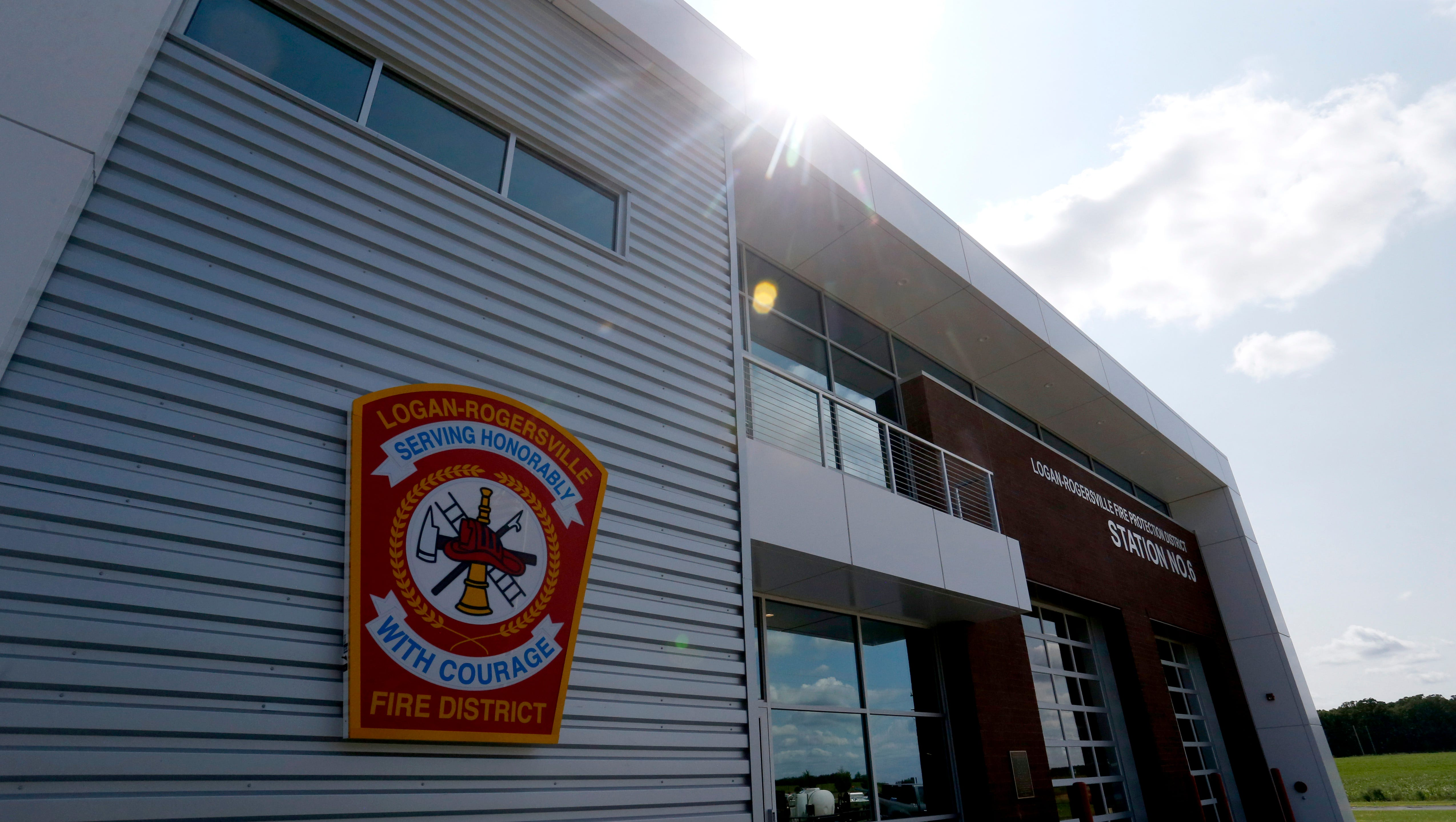 The Logan-Rogersville Fire Protection District showed off its new fire station on Friday, Aug. 17, 2018. The new station is the 6th for the district and the third station to be manned full time and cost an estimated $2.2 million.