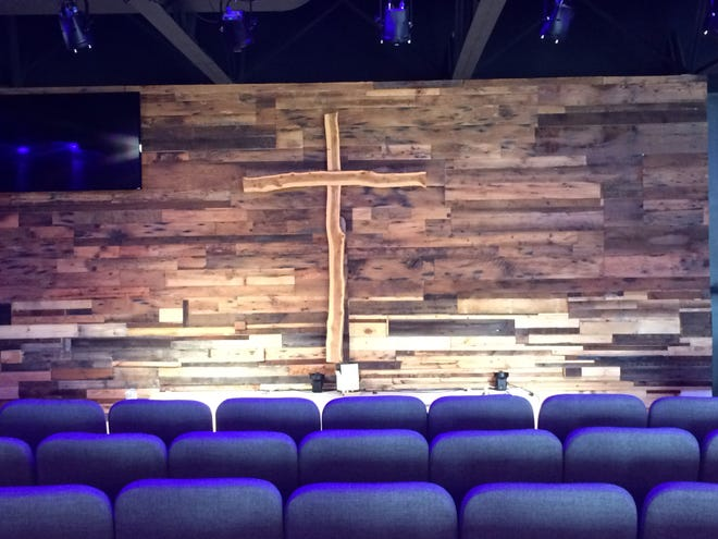 GraceBuilt Church's new location on U.S. 250 in Waynesboro.