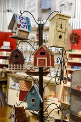 Modern Barnyard has a large selection of restored and repurposed items shown  Monday, Aug. 13, in Waite Park.