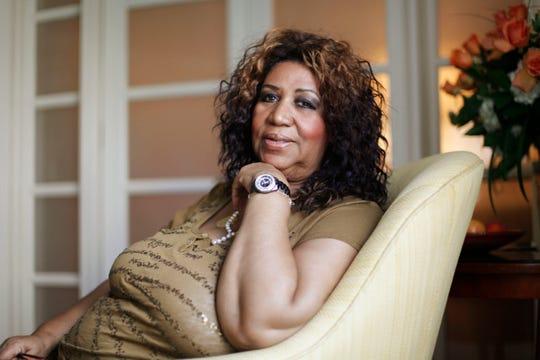 Singer Aretha Franklin got her hit sound at FAME Studios in Alabama.