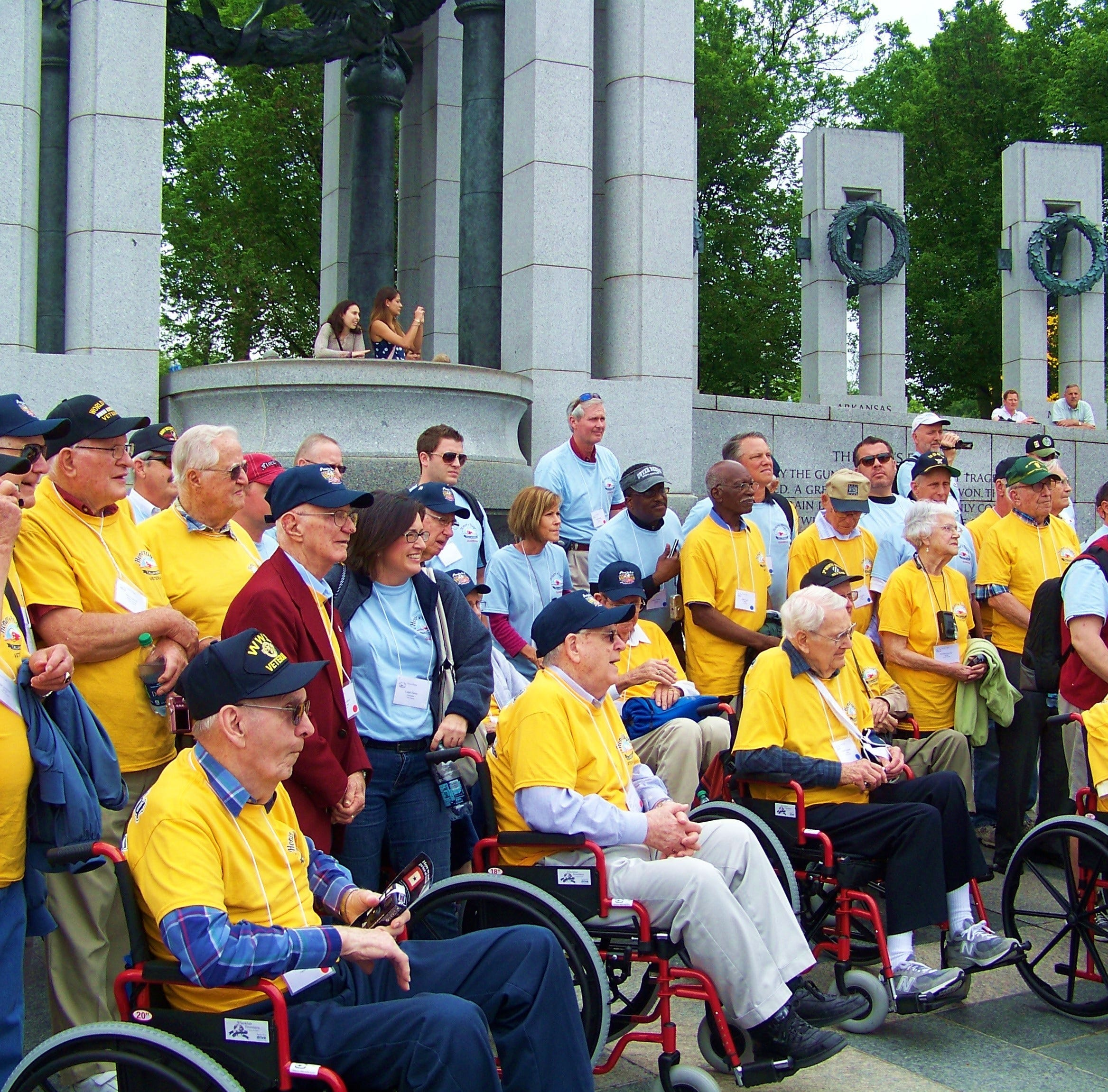 Honor Flight raising money to pay for wheelchair tires