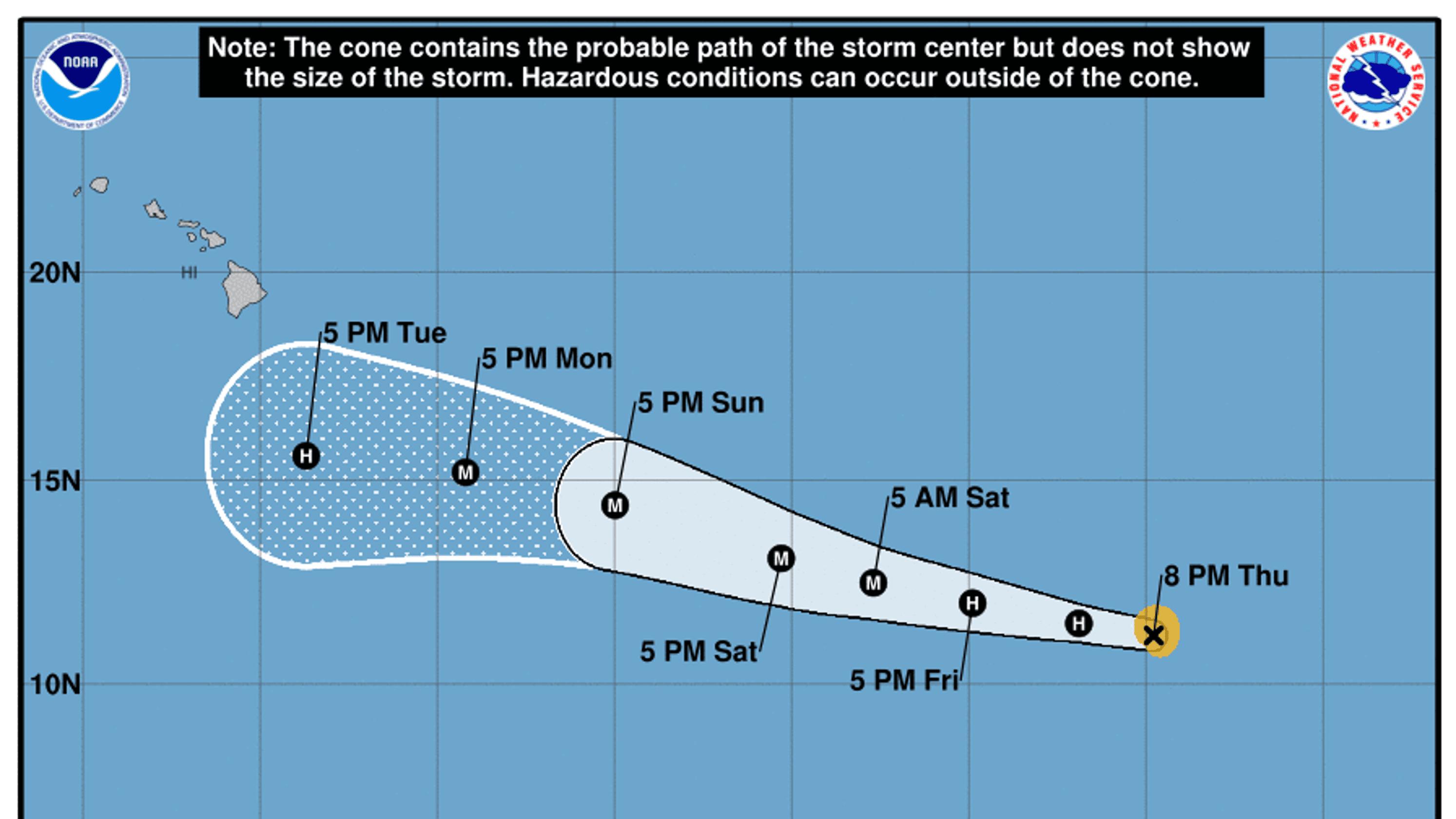 Tropical wave eyes Caribbean as Ernesto heads toward Ireland; Lane ...