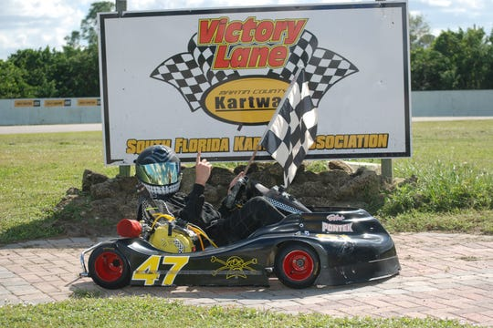 At the open house Aug. 25, racing karts will be available for testing on the banked asphalt oval track and drivers and crews will be on hand to discuss the program, equipment and costs.