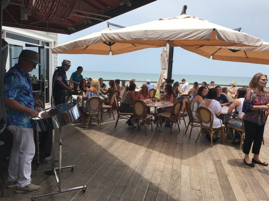 Outside deck at Kyle G's Prime Seafood at 10900 South Ocean Drive, Hutchinson Island. The Checkmate Band will play from 5-8 p.m. Sept 1 at the restaurant.