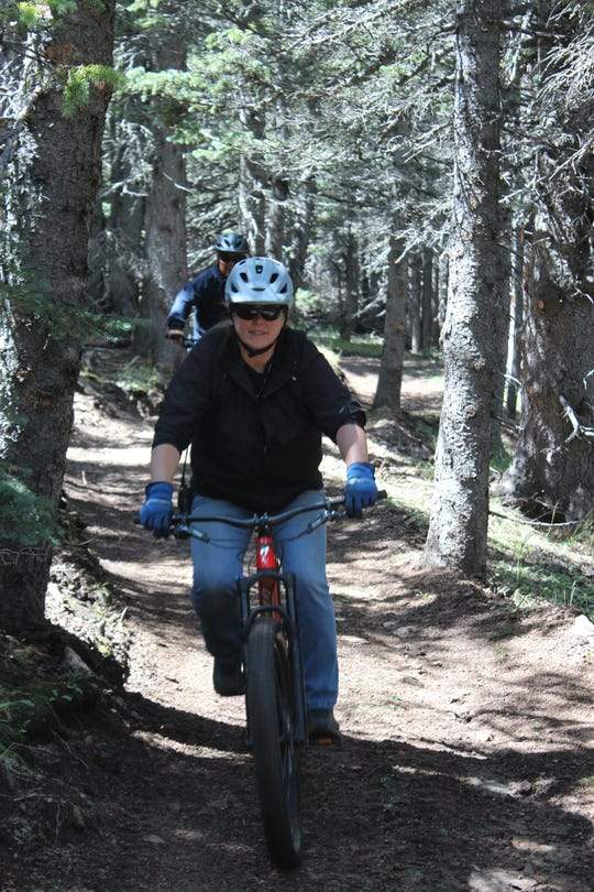 Bicycling can be done year-round in the Southwest with such good weather most of the year.