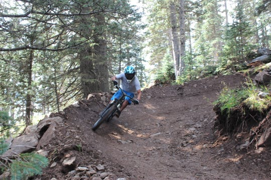 Outdoor enthusiasts can enjoy a new bike trail in Ruidoso.