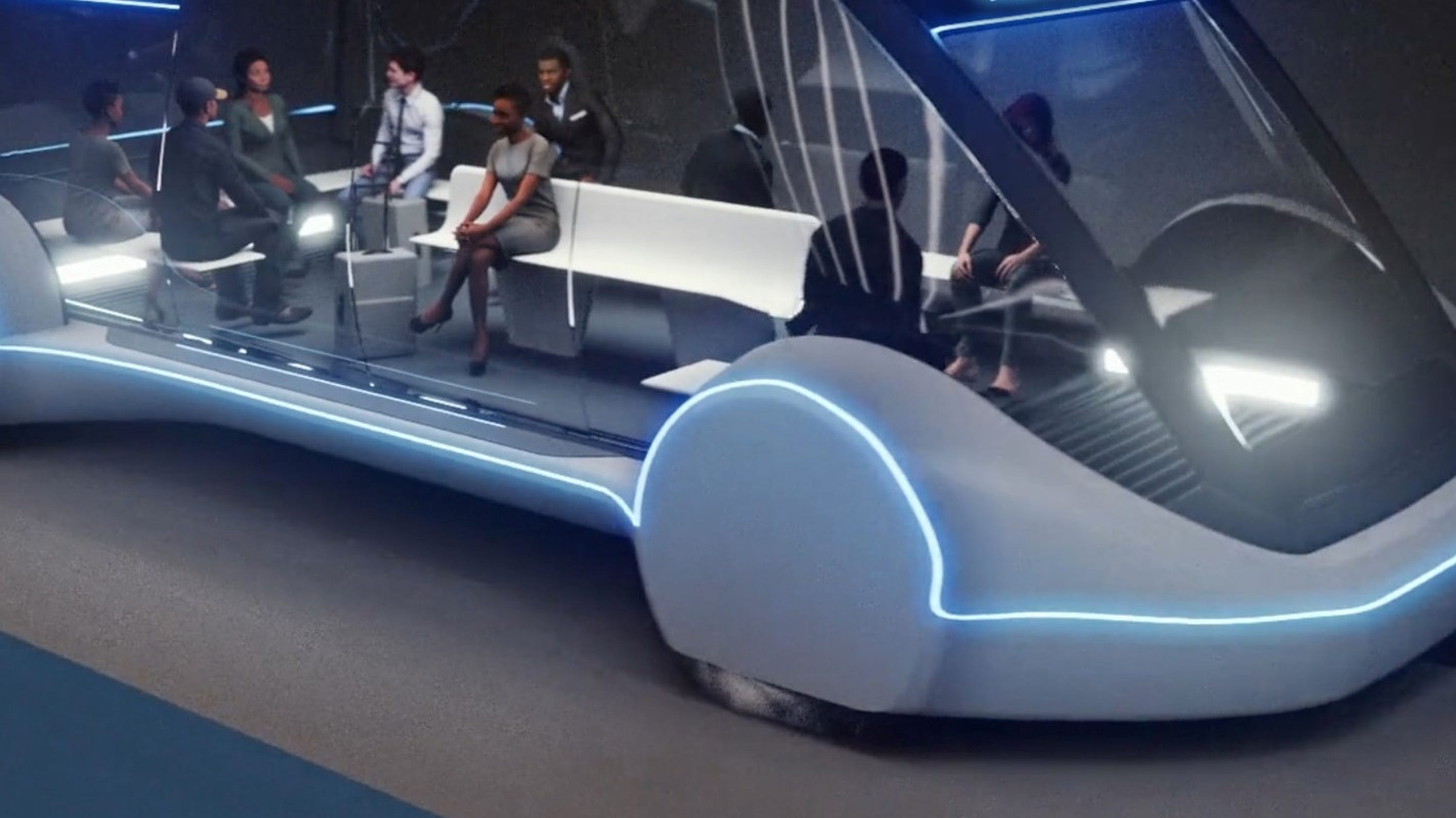 Elon Musk Proposes Los Angeles Tunnel To Dodger Stadium - Elysian park car show 2018