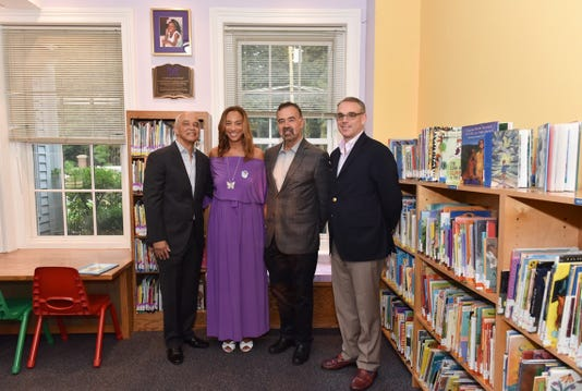 """Gabrielle's Corner"" at Huguenot Children's Library"