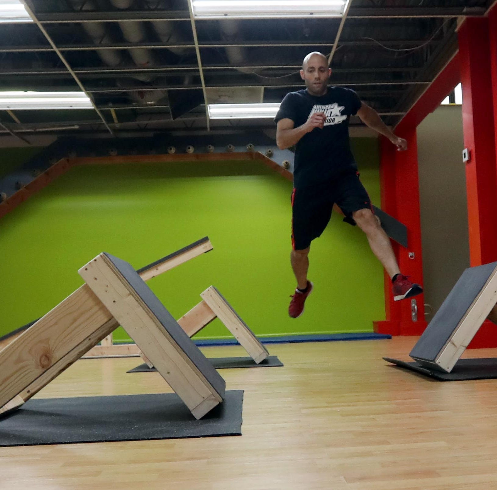 Elmsford gym features obstacles modeled after popular NBC series 'American Ninja Warrior'