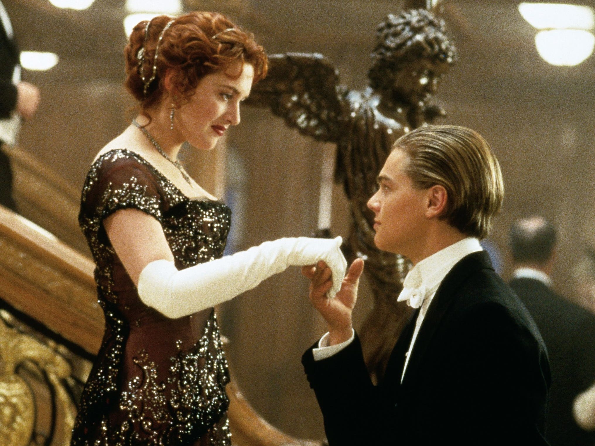 'Titanic': The most expensive movie in Hollywood history at the time of its 1997 release, 'Titanic' holds up as a feast for the eyes. The divine Kate Winslet and Leonardo DiCaprio help.