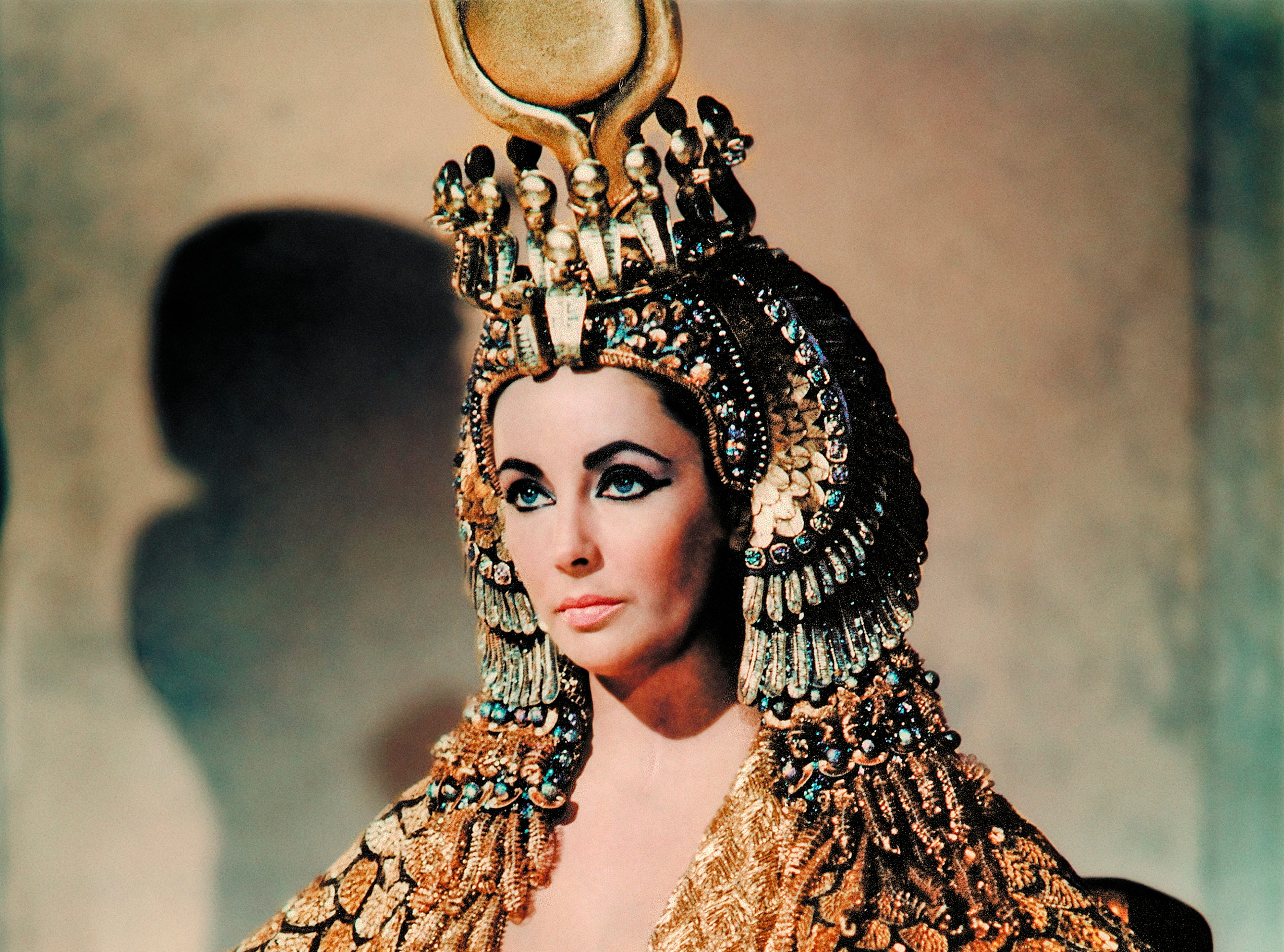 "'Cleopatra,' 1963. Variety recently called the Elizabeth Taylor-Richard Burton epic ""scandalously expensive."" Dripping in gold and with behind-the-scenes drama to boot, the movie was budgeted for $5 million. It ended up costing at least seven times that much, which Variety estimated cost about $350 million adjusted in 2017."