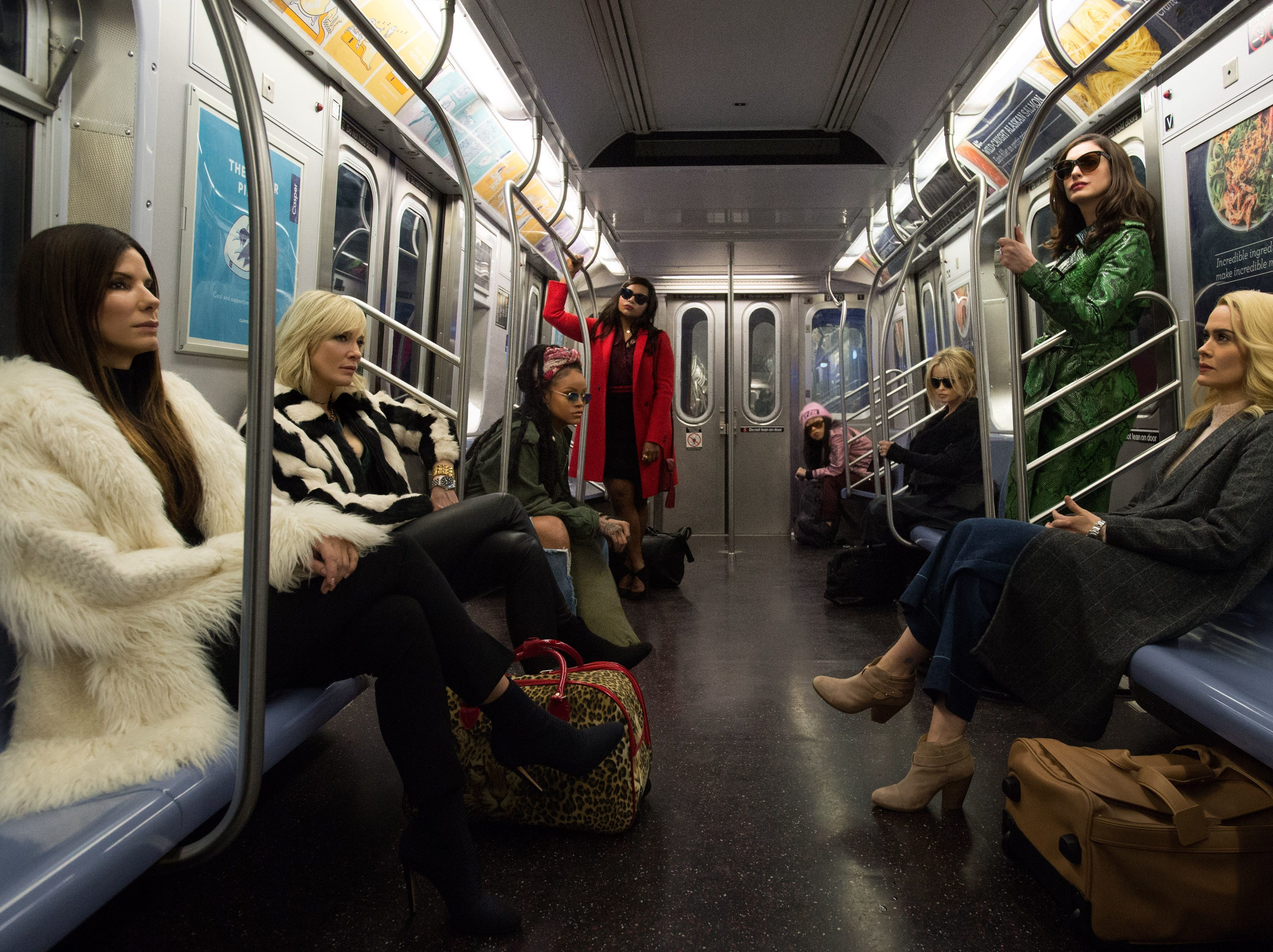 'Ocean's 8': Although the quality doesn't reach that of the 'Ocean's 11' reboot, 'Ocean's 8' has its own delights. Namely, Sandra Bullock (from left), Cate Blanchett, Rihanna, Mindy Kaling, Awkwafina, Helena Bonham Carter, Anne Hathaway and Sarah Paulson. Bonus: A good chunk of the movie is set at fashion's biggest night, the Met Gala.