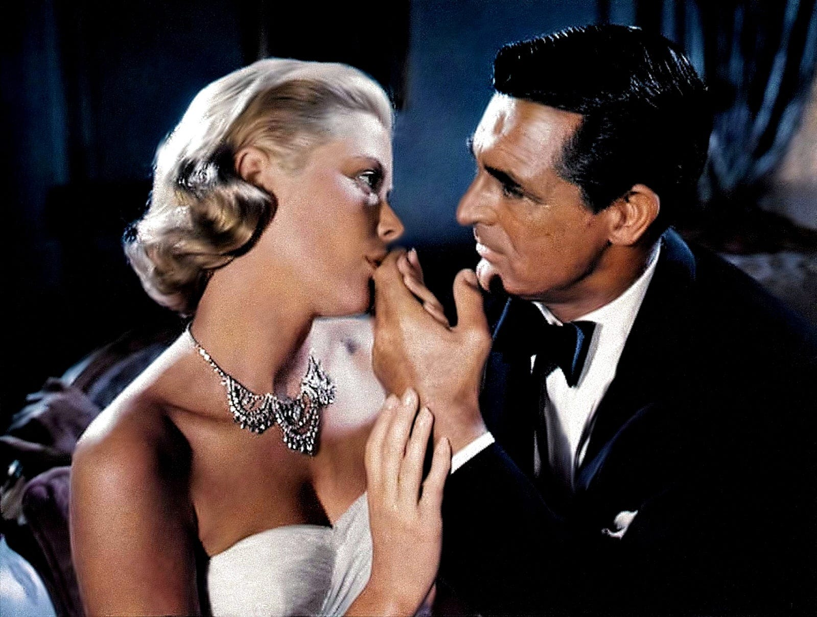 'To Catch a Thief': Grace Kelly and Cary Grant star in the 1955 Alfred Hitchcock thriller about a reformed jewel thief on the French Riviera. It doesn't get much more glam than that.