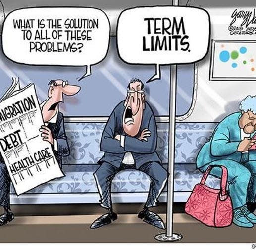 Past time to institute congressional term limits