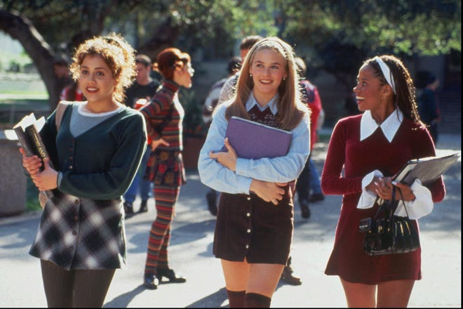 'Clueless': Brittany Murphy, Alicia Silverstone and Stacey Dash are high schoolers with rich parents and killer wardrobes in this '90s classic.