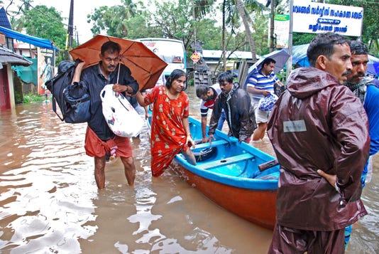 Ap India Monsoon Flooding I Ind