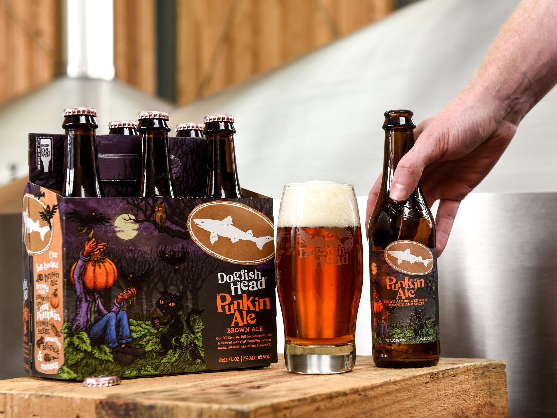 Punkin Ale is Dogfish Head Craft Brewery's most successful seasonal beer.