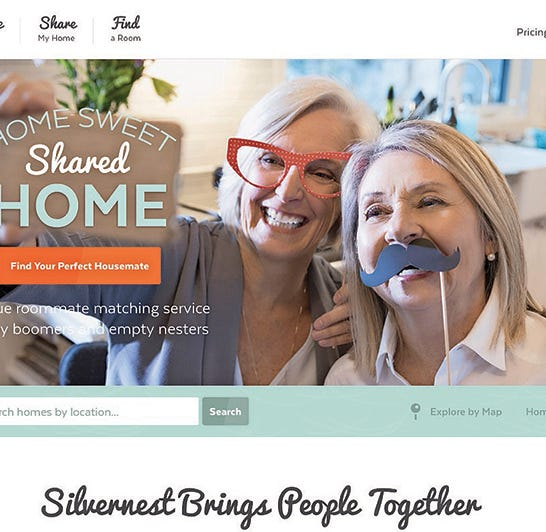 Denver-based Silvernest consultants find roommates, do background checks, collect rent payments and more.