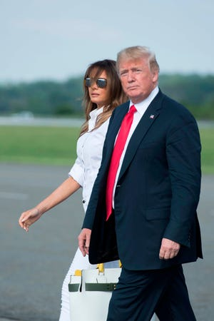 In its latest profile on Melania Trump, The New York Times says she was overruled by the president on how to decorate the White House family quarters.