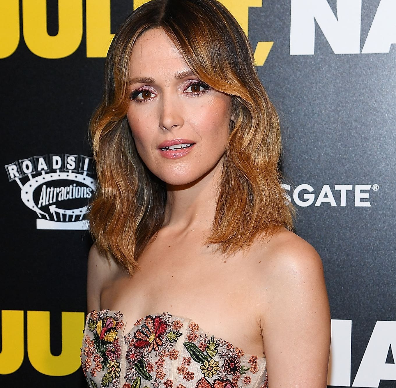 Rose Byrne was six-months pregnant while filming 'Juliet, Naked,' her character was 'so not'