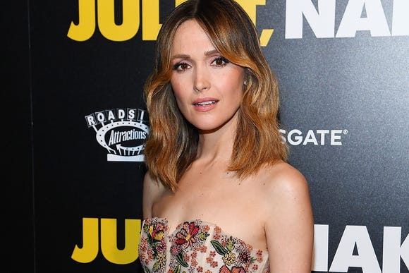 """Rose Byrne attends the """"Juliet, Naked"""" New York Premiere at Metrograph on Aug. 14, 2018, in New York City."""