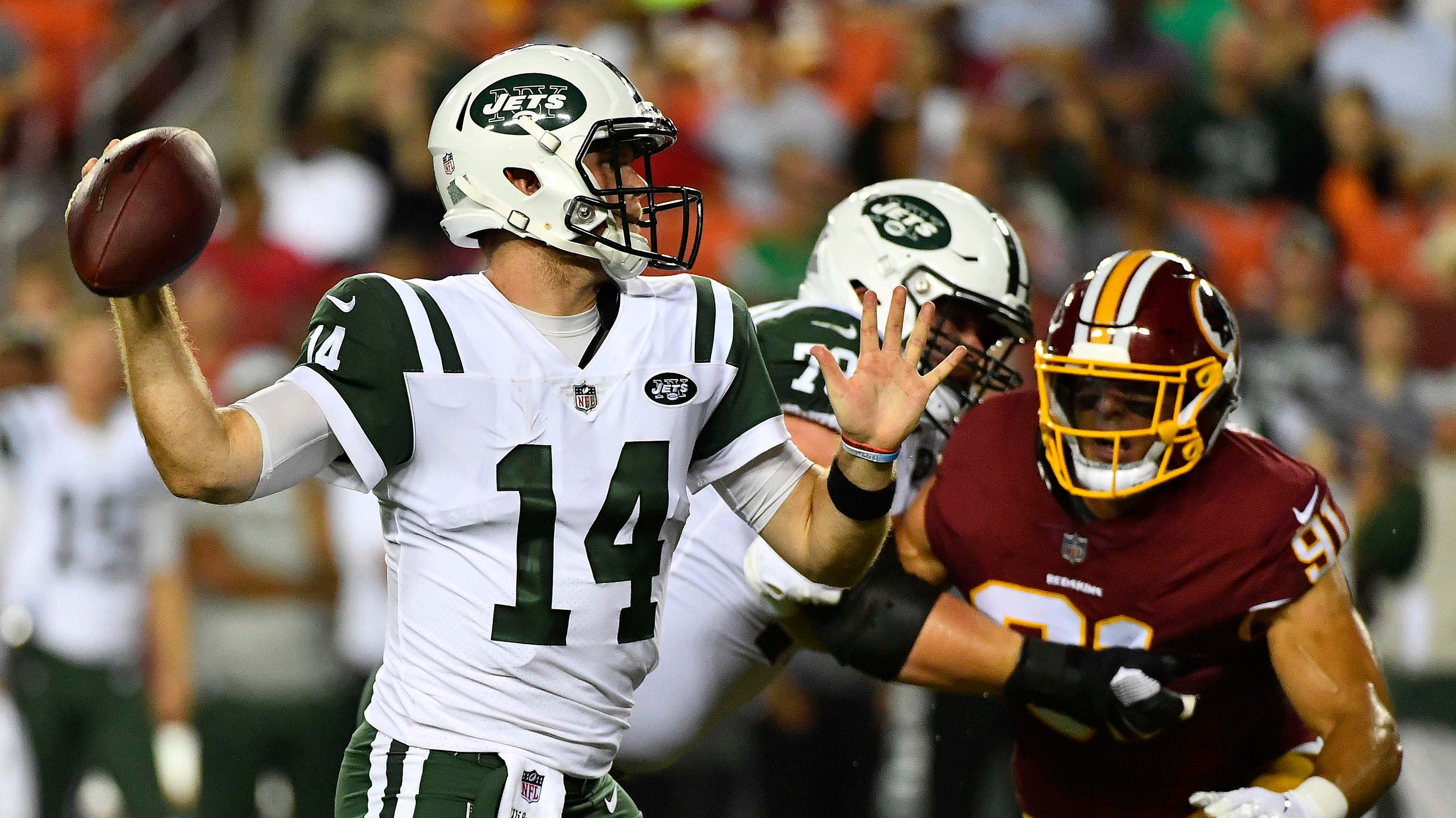 Three-and-out  Sam Darnold s first start and other Jets-Redskins  observations afd71782e