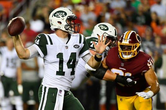 Nfl New York Jets At Washington Redskins