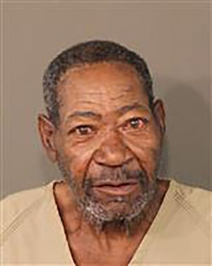 A mugshot of Booker Moody, 72, provided by the Franklin County, Ohio Sheriff's office. Moody is accused of killing his granddaughter as she tried to enter her home, where they both lived.