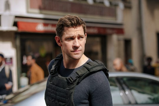 John Krasinski plays with Jack Ryan on Amazon