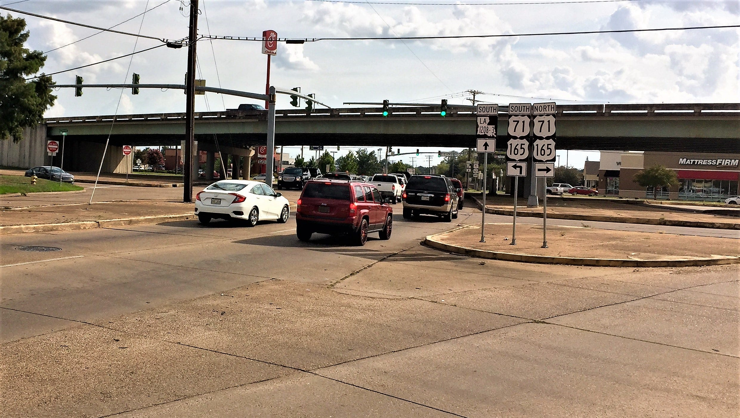 The intersection of Jackson Street and MacArthur Drive is getting an overhaul to improve pedestrian safety and aesthetics.