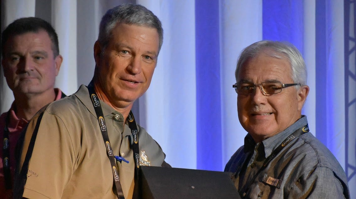 Alexandria official Dorgant honored by LHSOA