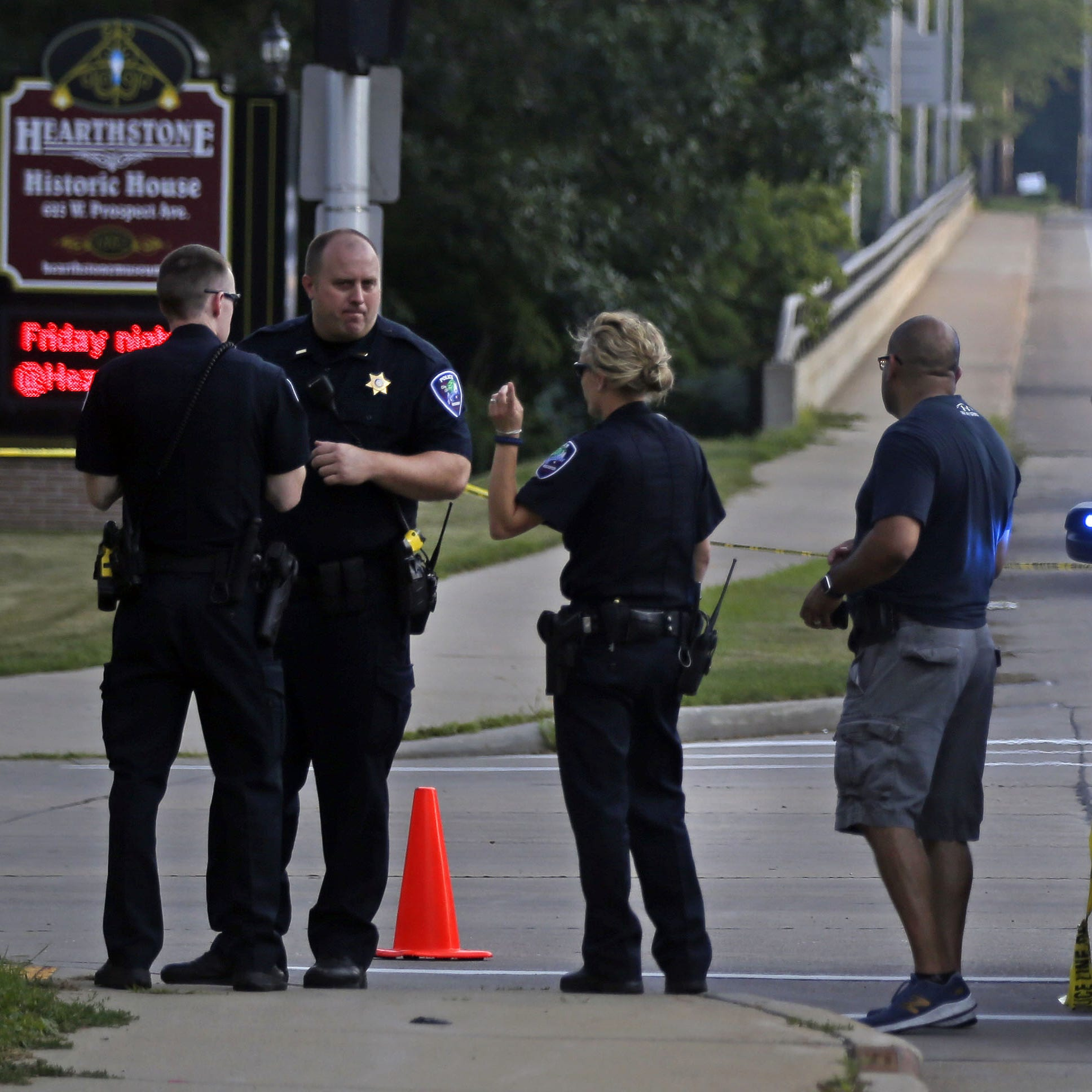 Appleton police investigate drive-by shooting at busy intersection